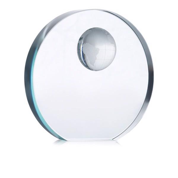 Globe glass trophy Mondal