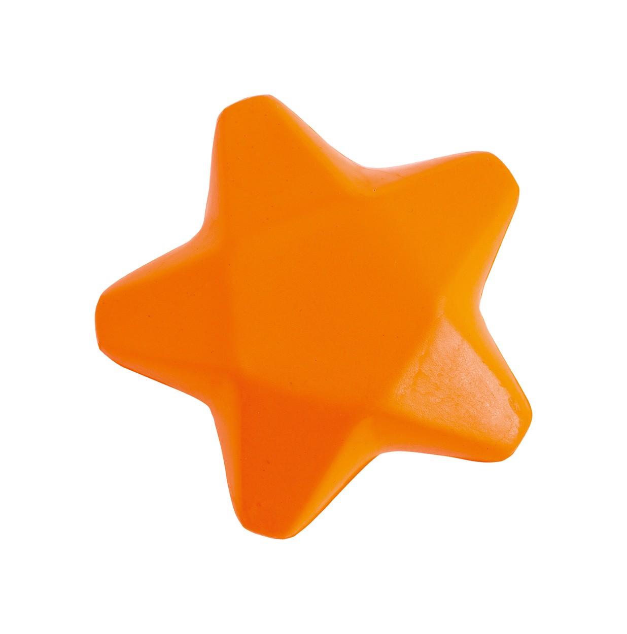 Antistresová Hvězda Ease - Oranžová