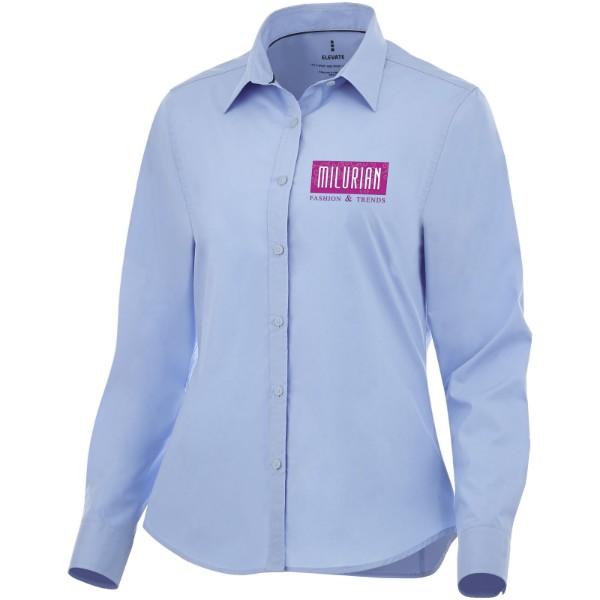 Hamell long sleeve women's stretch shirt - Light blue / L