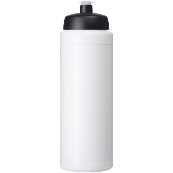 Baseline® Plus grip 750 ml sportovní lahev s víčkem na sport - Bílá / Černá