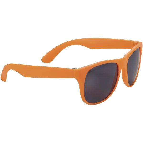 Retro single coloured sunglasses - Neon orange