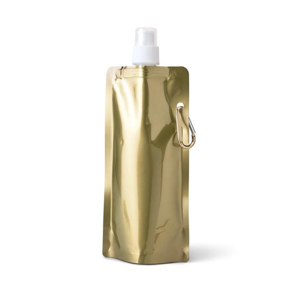 GILDED. Πτυσσόμενο μπουκάλι - Σατέν Χρυσό