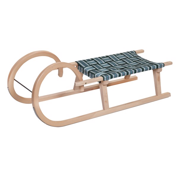 """Wooden Sledge """"Snow"""" Large"""