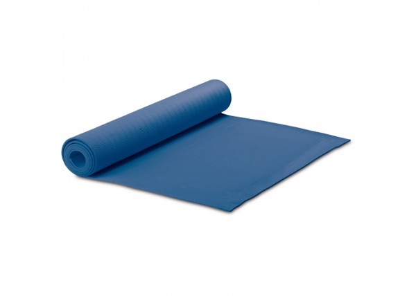 Fitness-yoga mat with carrier - Dark Blue