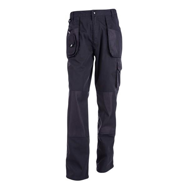 THC WARSAW. Pantalones de trabajo para hombre - Azul Marino / L