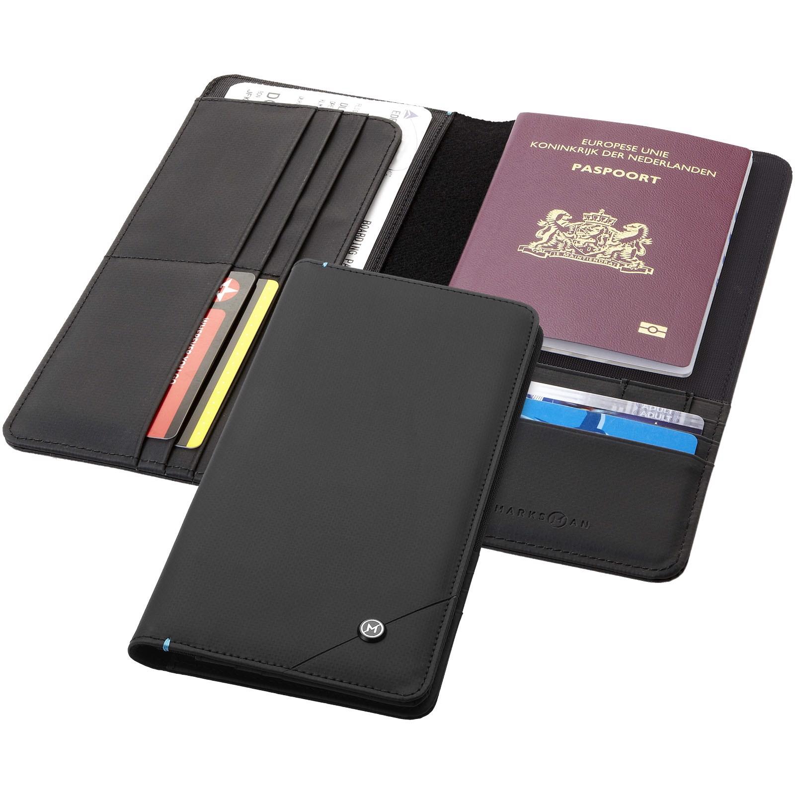 Cestovní náprsní taška Odyssey s RFID