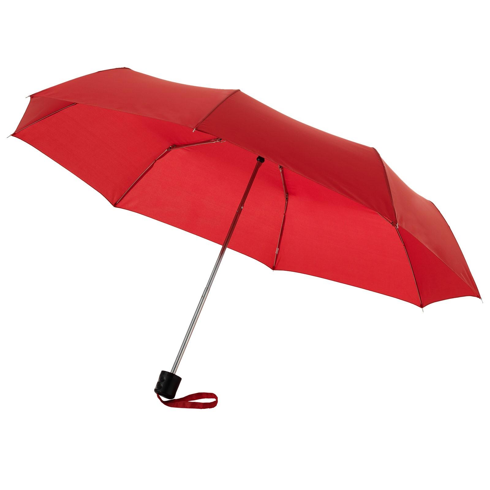 """21,5"""" skládací deštník Ida - Červená s efektem námrazy"""