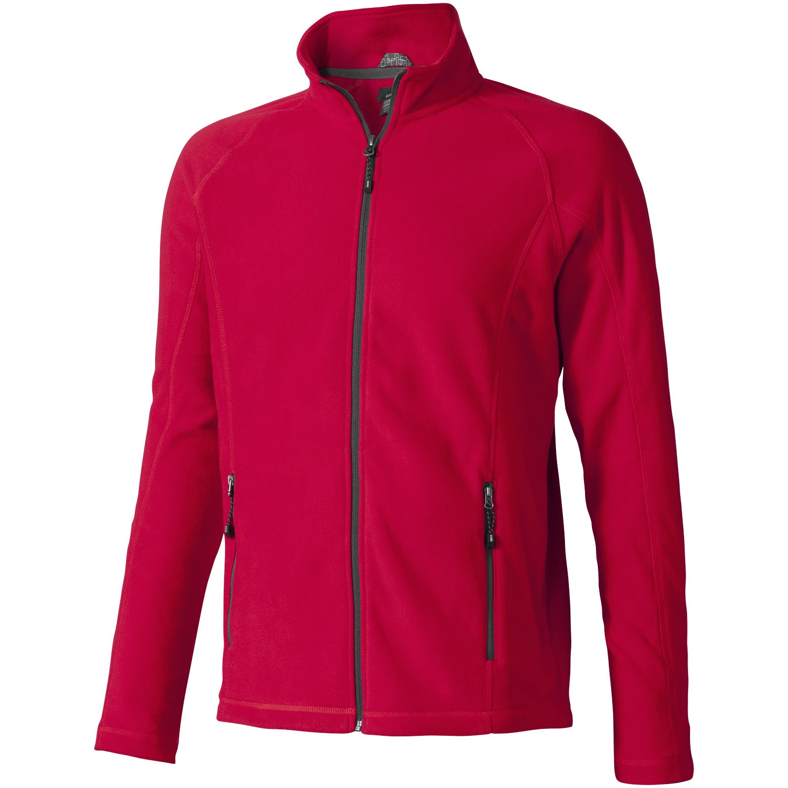 Rixford polyfleece full zip - Red / XL