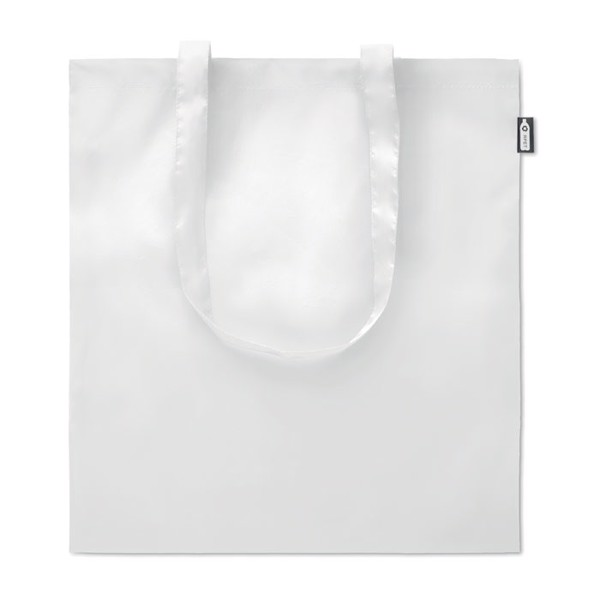 Shopping bag in 100gr RPET Totepet - White