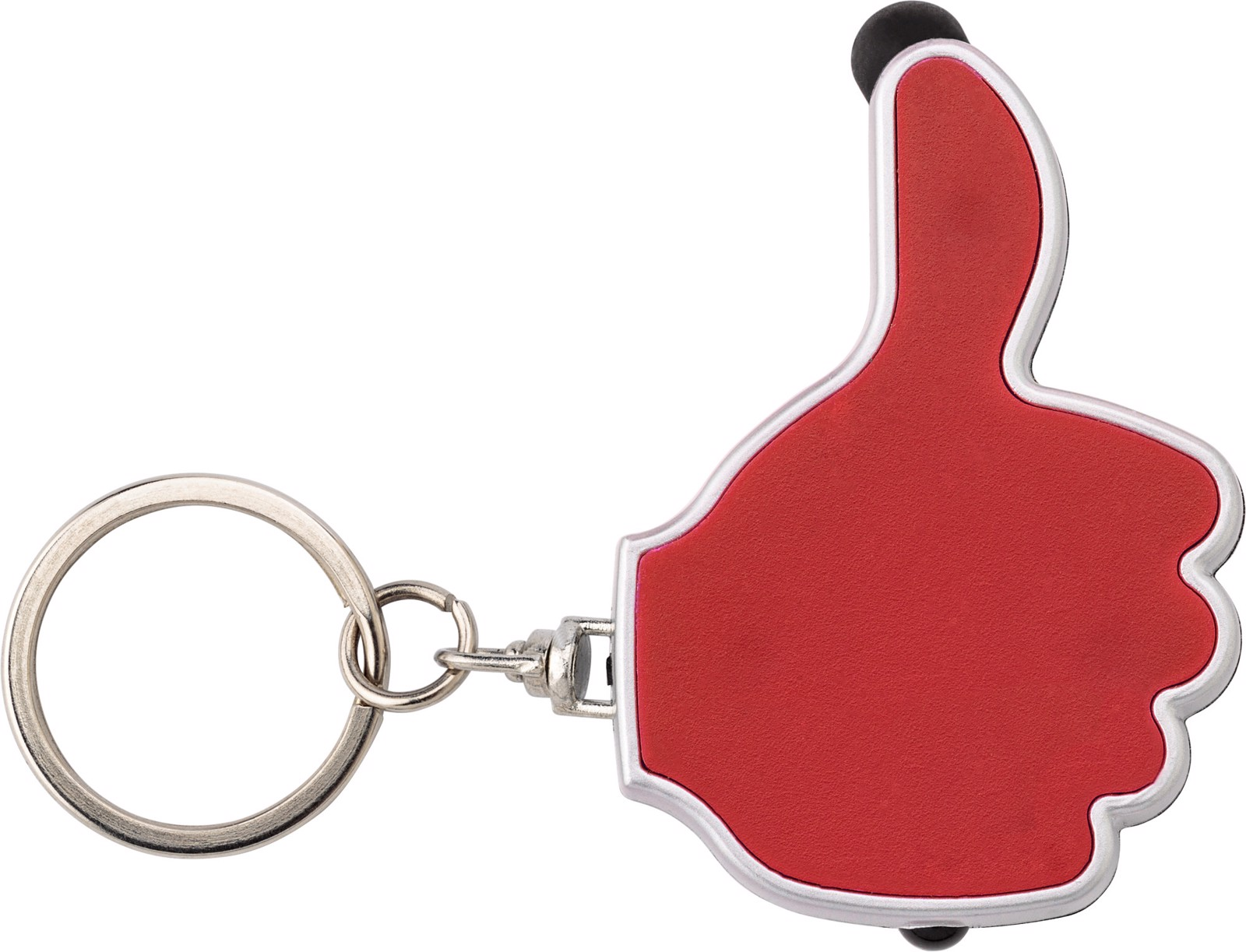 ABS 2-in-1 key holder - Red