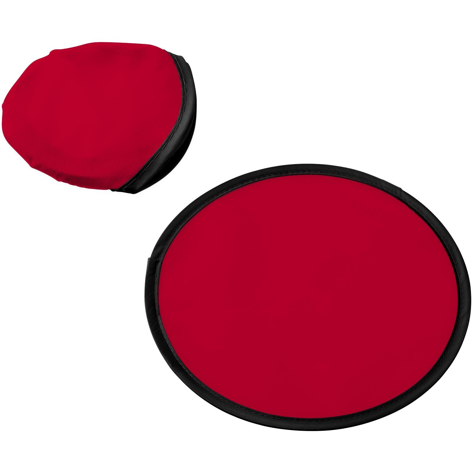 Frisbee Florida se sáčkem - Červená s efektem námrazy