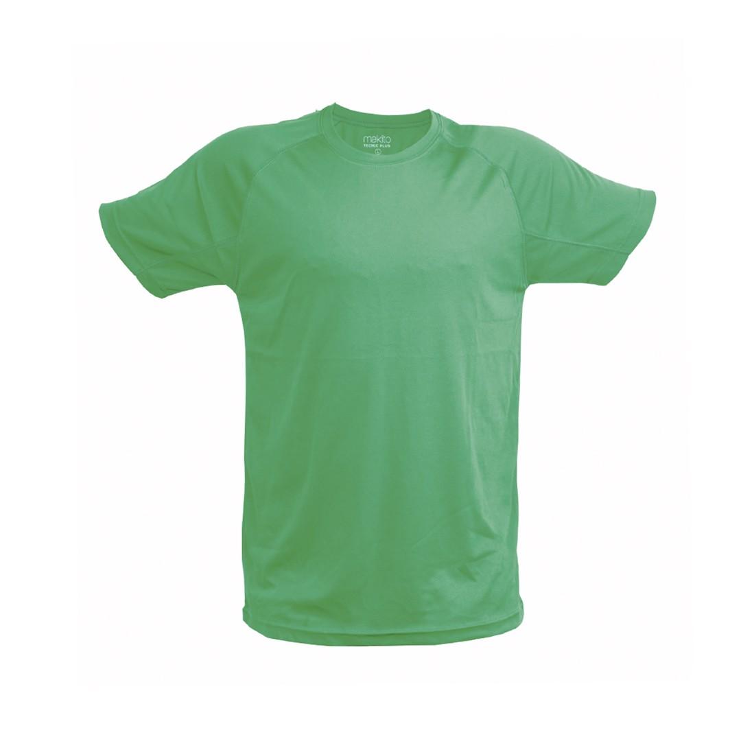 T-Shirt Adulto Tecnic Plus - Verde / L