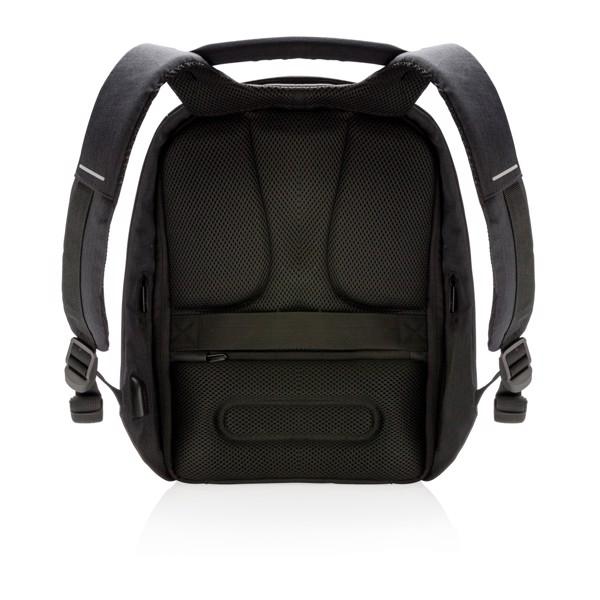 Nedobytný batoh Bobby Compact Print - Černá / Bílá