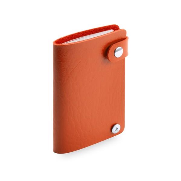 Porte-Cartes Top - Orange/Bleu