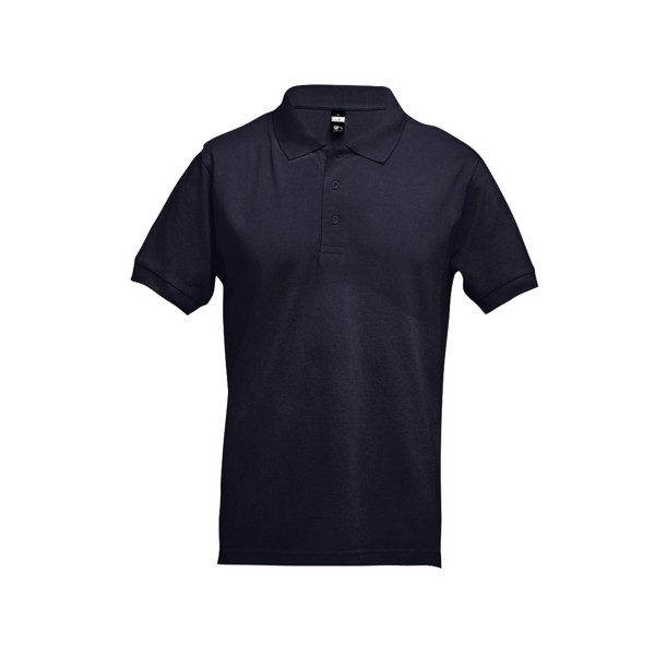 ADAM. Men's polo shirt - Navy Blue / XL