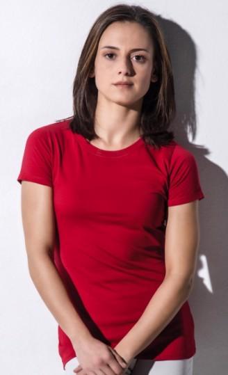 Damski t-shirt Organic Ruth  - White