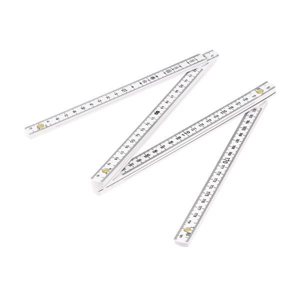 Metric folding ruler