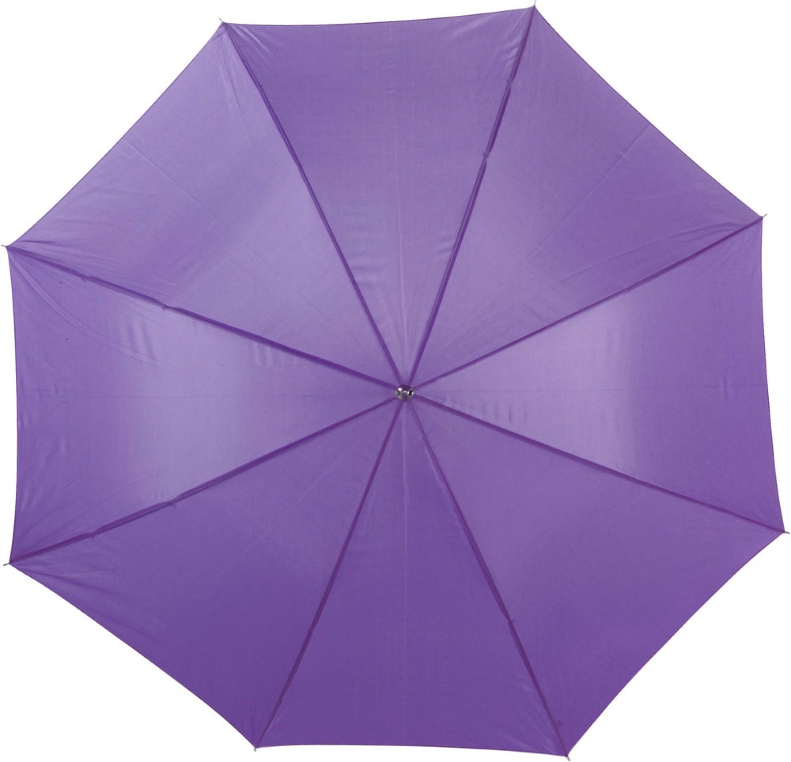 Polyester (190T) umbrella - Purple