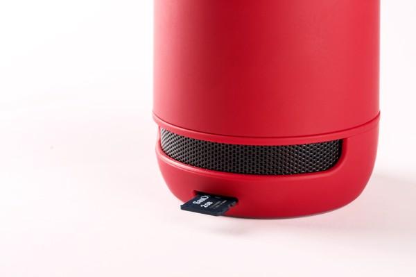 Bluetooth Reproduktor Braiss - Červená / Černá