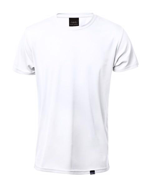 Rpet Sportovní Tričko Tecnic Markus - Bílá / S
