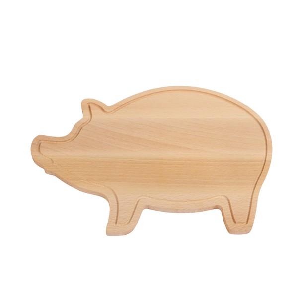 Dřevěná Krájecí Deska Piggy