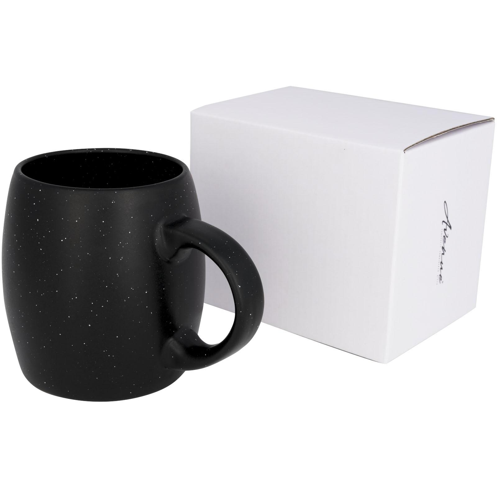 Stein 520 ml Keramiktasse - schwarz