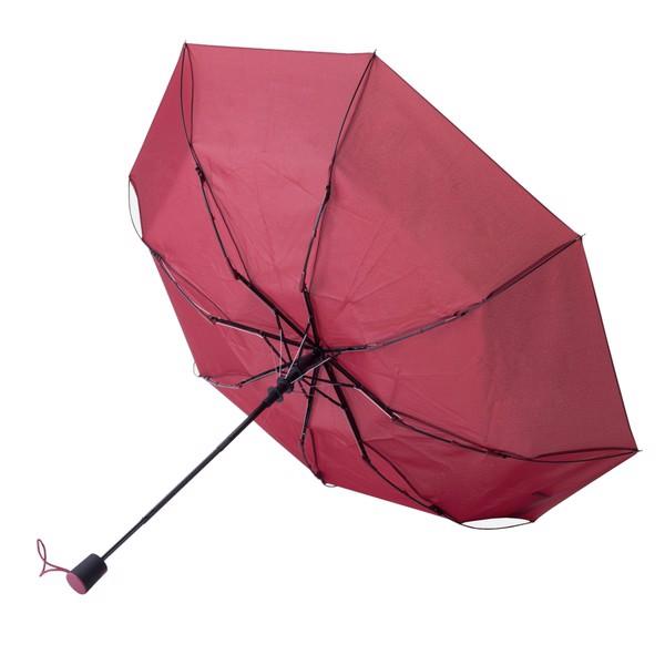 Składany parasol sztormowy Ticino - Bordowy