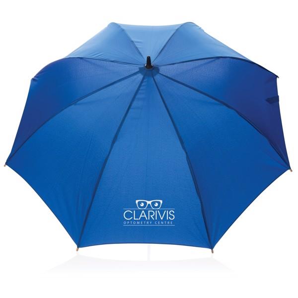 "23"" automatický odolný deštník z RPET - Modrá"