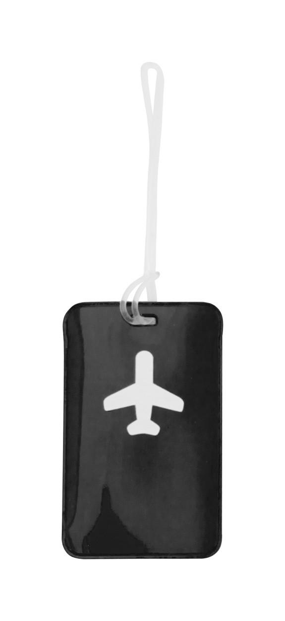 Luggage Tag Raner - Black