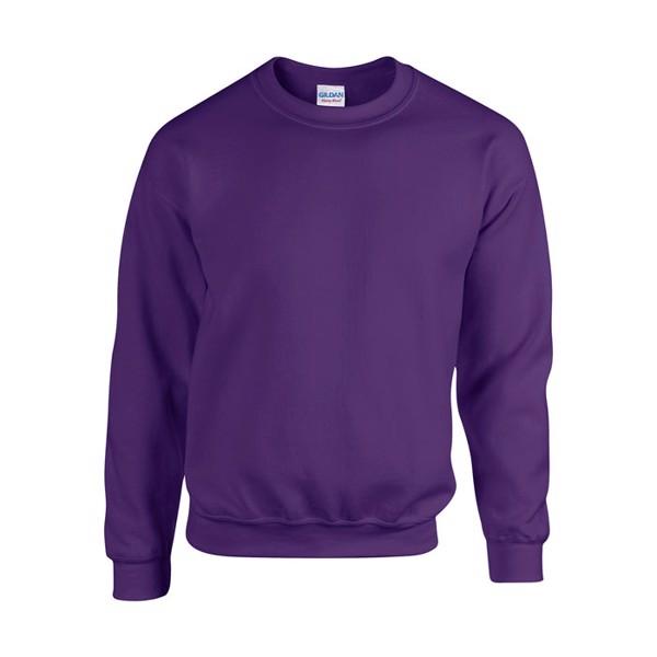 Unisex Bluza 255/270 g/m2 Heavy Blend Sweat 18000 - Purple / XXL