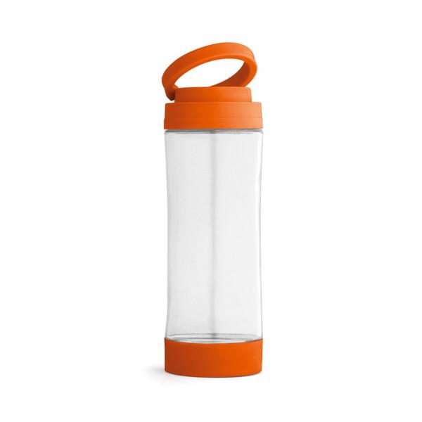 QUINTANA. Skleněná sportovní láhev - Oranžová