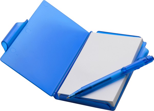 ABS notebook with pen - Green