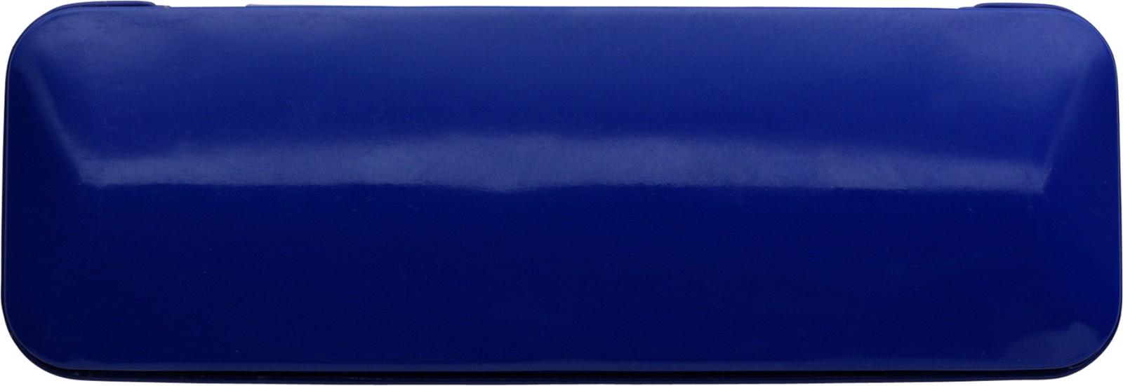 Aluminium writing set - Cobalt Blue