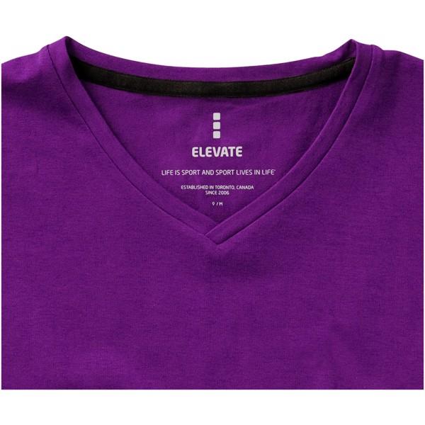 Kawartha short sleeve women's GOTS organic t-shirt - Plum / M