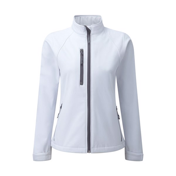Női softshell 340 g/m2 Soft Shell Jacket R-140M-0 - White / M
