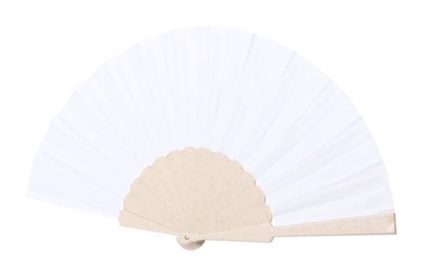Handventilator Lencer - Natur / Weiß