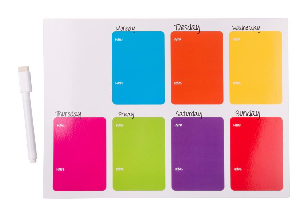 Noteboard Magnetic Nietix - Multicolor