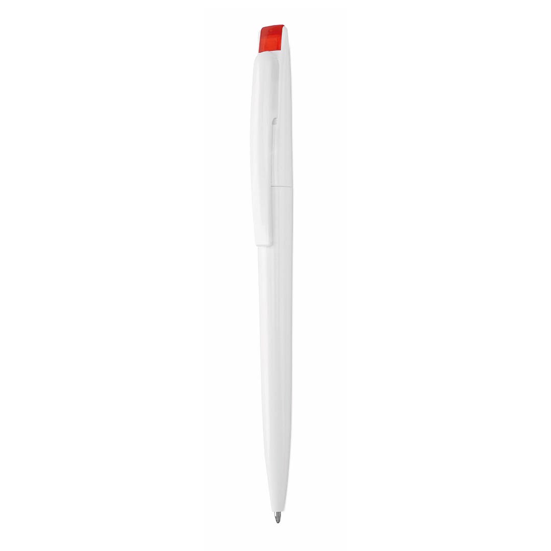 Esferográfica Bendon - Branco / Vermelho