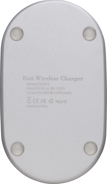 Acrylic fast charger - Silver