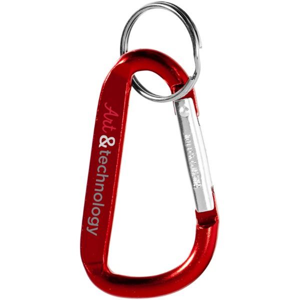 Timor carabiner keychain - Red