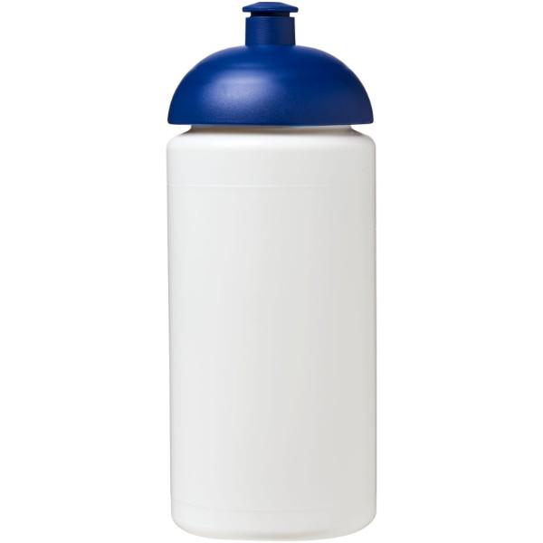 Sportovní láhev s kupolovitým víčkem Baseline® Plus grip 500 ml - Bílá / Modrá