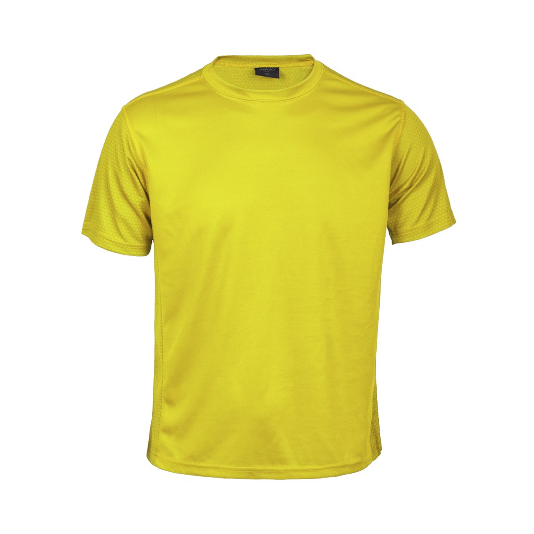 Camiseta Adulto Tecnic Rox - Amarillo / S