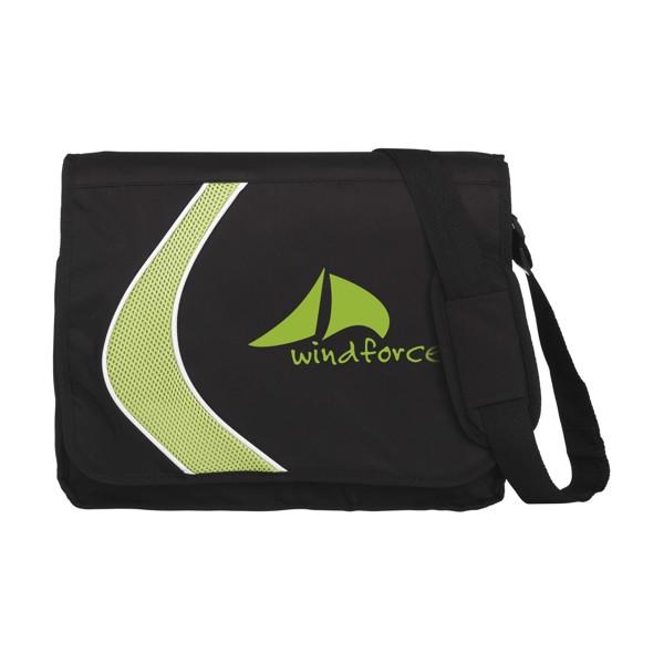 Boomerang document bag - Green