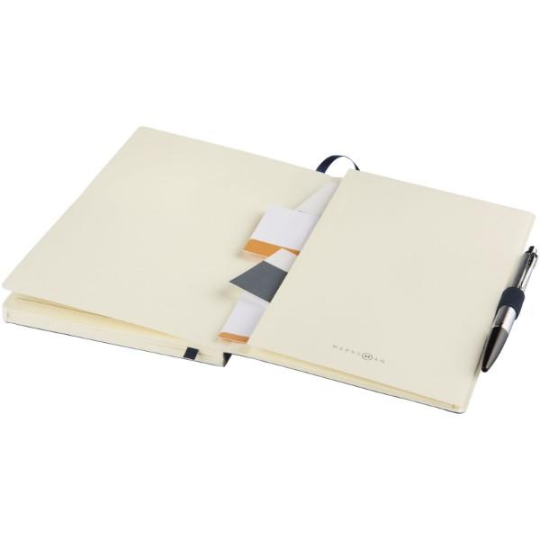 Revello zápisník A5 s měkkými deskami - Tmavě modrá