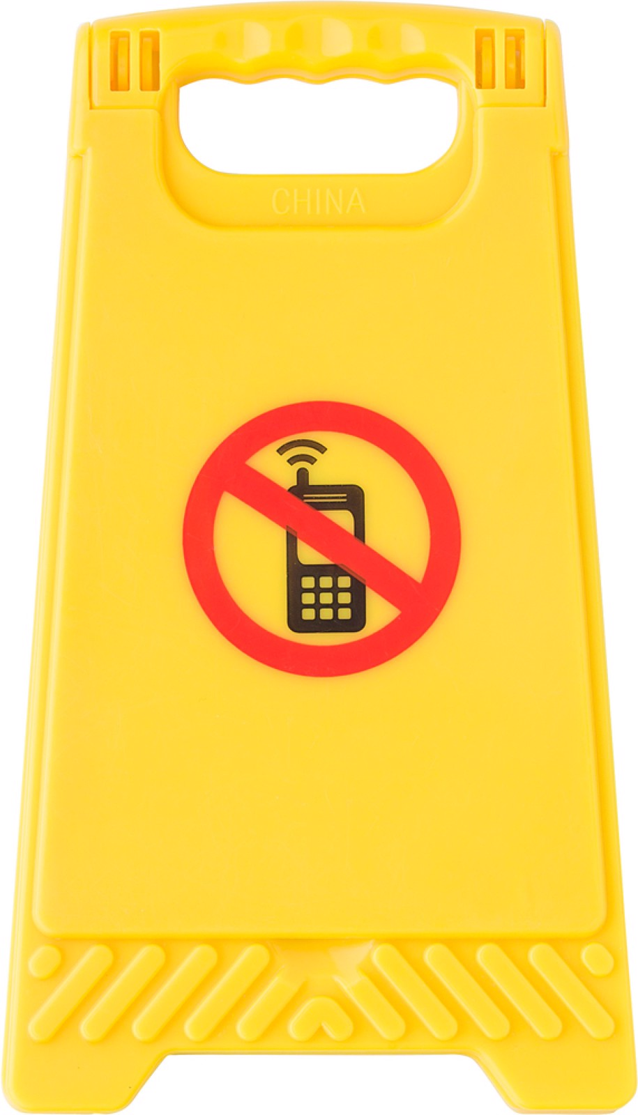 ABS warning sign
