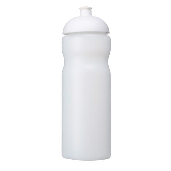 Baseline® Plus 650 ml dome lid sport bottle - Transparent / White