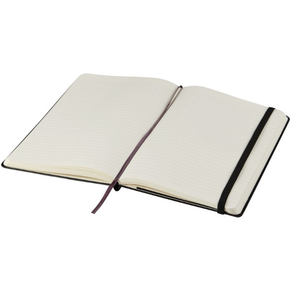 Classic PK hard cover notebook - ruled - Solid black