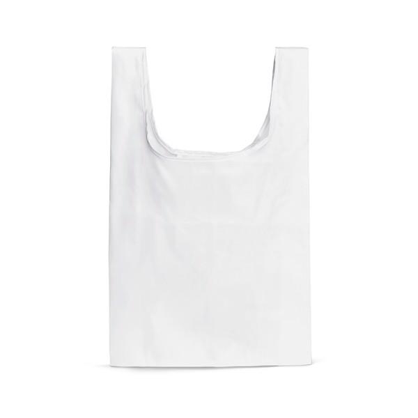 PLAKA. Skládací taška 210T - Bílá