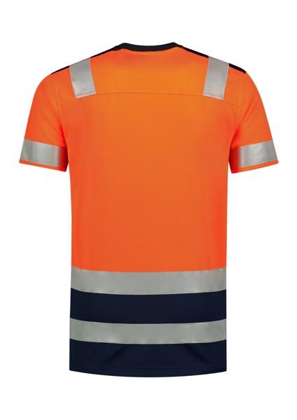 Tričko unisex Tricorp T-Shirt High Vis Bicolor - Fluorescenční Oranžová / L