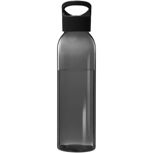 Sky 650 ml Tritan™ sport bottle - Solid black